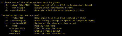 bst - Binary String Toolkit.