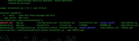droidstatx - Android Applications Security Analyser, Xmind Generator.
