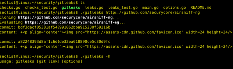 gitleaks - detecting and mitigating for secrets keys.