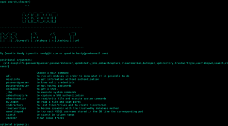 MSDAT - Microsoft SQL(MsSQL) Database Attacking Tool.