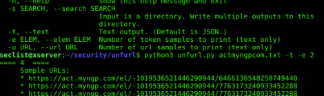 unfurl is An Entropy Based Link Vulnerability Analysis Tool.