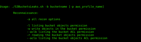 S3BucketLeaks - External audit of Amazon S3 Bucket configuration to prevent data breach (offensive side).