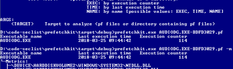 prefetchkit - A powerful forensics commandline tool for analyzing Microsoft Prefetch files.