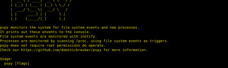 pspy - Monitoring linux processes without root permissions.