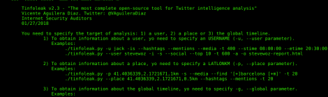 Tinfoleak - The most complete open-source tool for Twitter intelligence analysis.