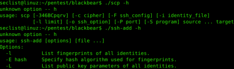 Blackbear - a fork of openssh-portable for penetration testing purposes.