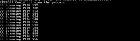 hollows_hunter - A process scanner detecting and dump hollowed PE modules.