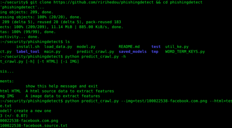 phishingdetect - A phishing detect system with NLP/OCR/HTML features.